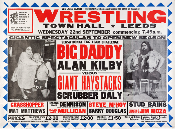 british-wrestling-poster