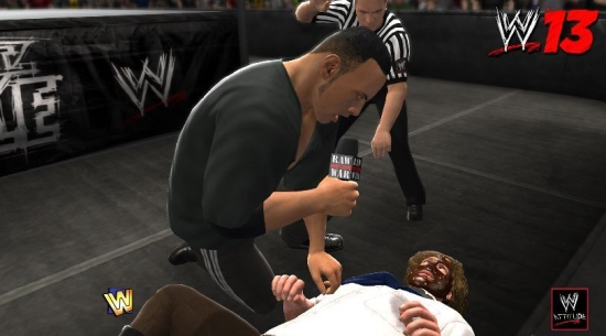 wwe-13-the-rock-mankind