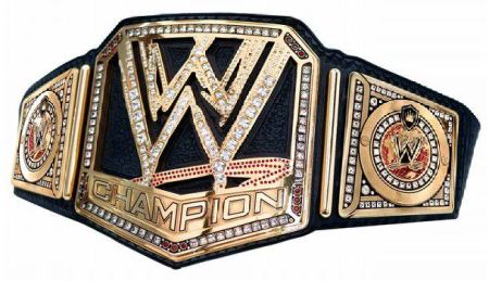 World Wrestling Federation Championship Belt