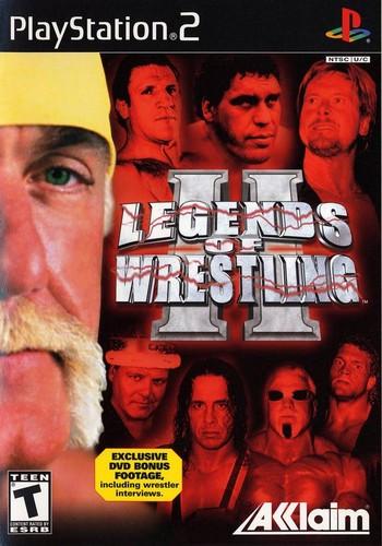 Legends Of Wrestling 2 Cover 0