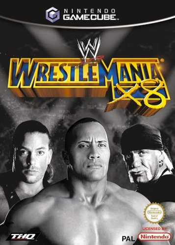 Wwe Wrestlemania X8 Cover