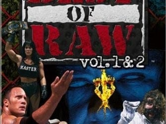 Wwf Best Of Raw Vol 1 2 Cover