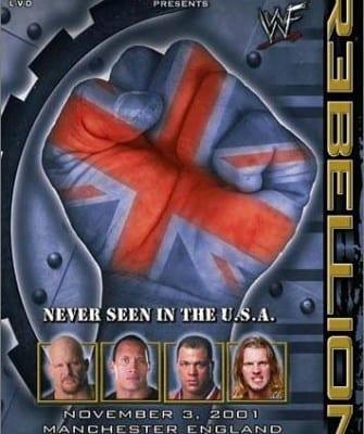Wwf Rebellion 2001 Cover