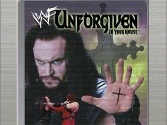 Wwf Unforgiven 1998 Cover