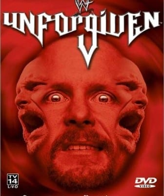 Wwf Unforgiven 2001 Cover