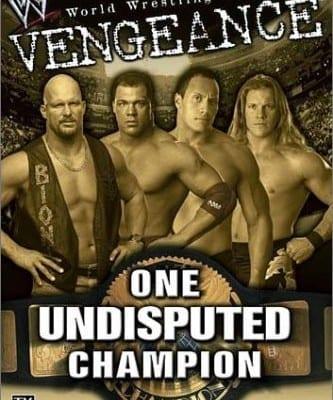 Wwf Vengeance 2001 Cover