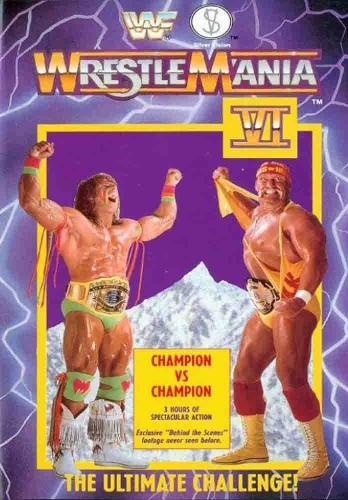 Wwf Wrestlemania 6 Vhs Cover