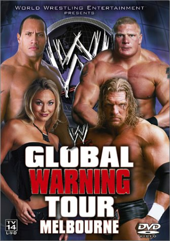 Wwe Global Warning Tour Covers 0