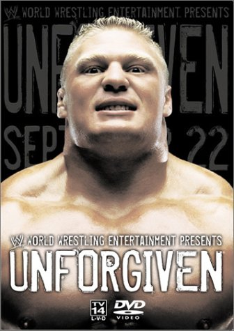 Wwe Unforgiven 2002 Cover 0