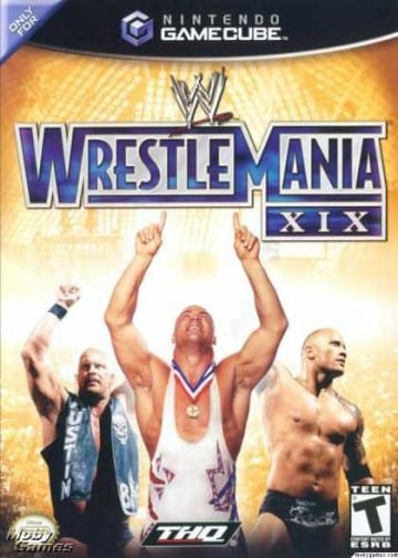 Wrestlemania Xix Gamecube Review Cover