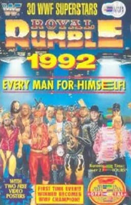 Wwf Royal Rumble 92 Classic Cover 0