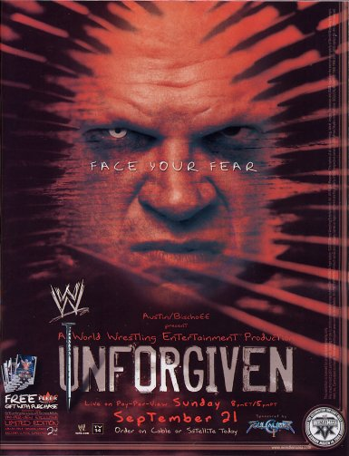 Wwe Unforgiven 2003 Cover