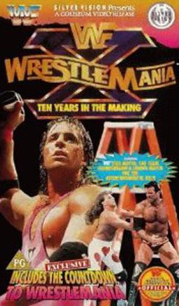 Wwf Wrestlemania X Classic Cover 0