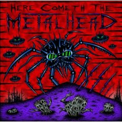 Here Cometh The Metalhead Cd Cover