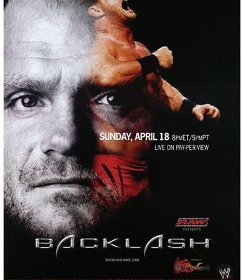 Wwe Backlash 2004 Cover