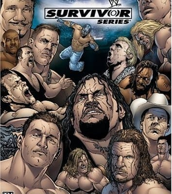 Wwe Survivor Series 2004 Cover