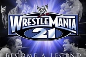 Xbox Wrestlemania 21 Cover