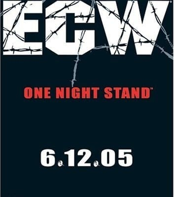 Ecw One Night Stand Dvd Cover
