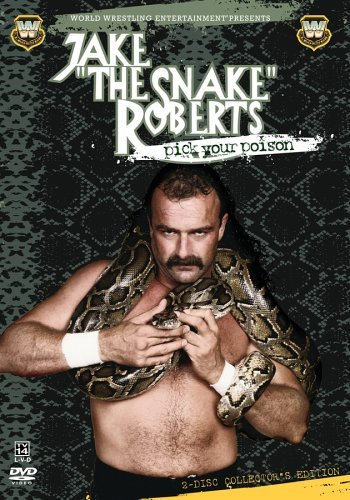 Jake The Snake Roberts Pick Your Poison Dvd Cover