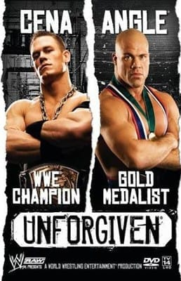 Wwe Unforgiven 2005 Dvd Cover 0