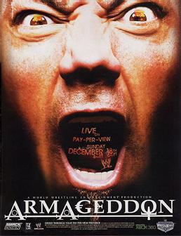 Wwe Armageddon 2005 Dvd Cover 0