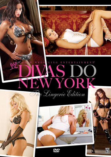 Wwe Divas Do New York The Lingerie Edition Dvd Cover