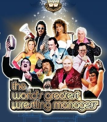 The Worlds Greatest Wrestling Managers Dvd Cover