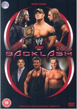 Wwe Backlash 2006 Dvd Cover 0