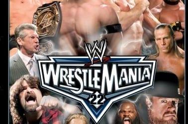 Wwe Wrestlemania 22 Dvd Cover 1
