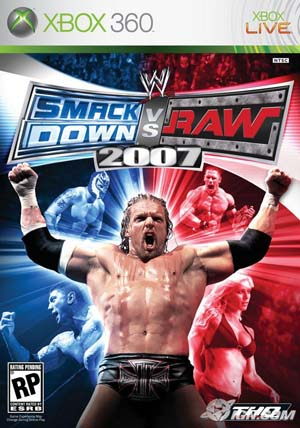 Smackdown Vs Raw 2007 Cover
