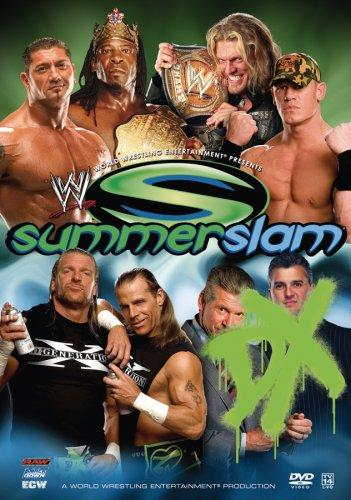 Wwe Summerslam 2006 Dvd Cover