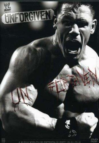 Wwe Unforgiven 2006 Dvd Cover