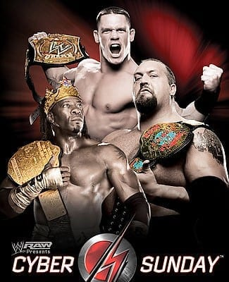 Wwe Cyber Sunday 2006 Dvd Cover 0