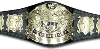 Undisputed WWF Title Belt V.1