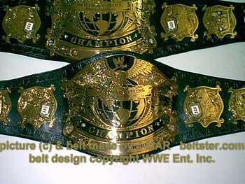 Undisputed WWE Title Belt V.1