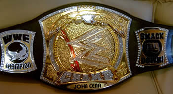WWE Raw Spinner Title Belt V.2