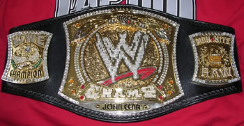 WWE Spinner Title Belt V.3