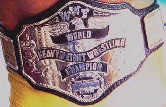 WWF Hogan 85 Title Belt