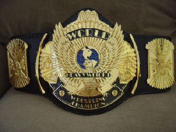 WWF Winged Eagle Title Belt