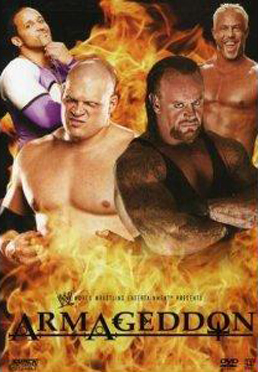 Wwe Armageddon 2006 Dvd Cover 1
