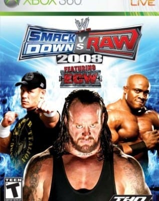 Wwe Smackdown Vs Raw 2008 Xbox 360 Cover