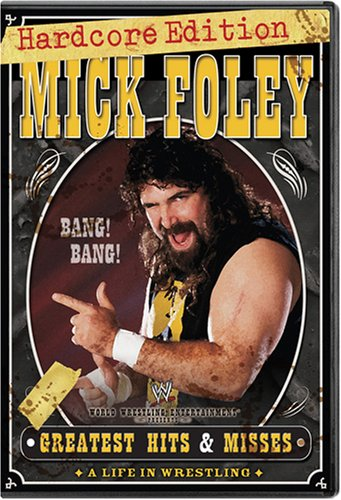 Mick Foley Greatest Hits Misses Hardcore Edition Dvd Cover