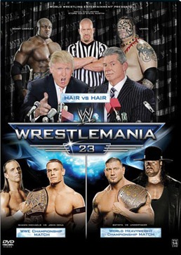 Wwe Wrestlemania 23 Dvd Cover 0