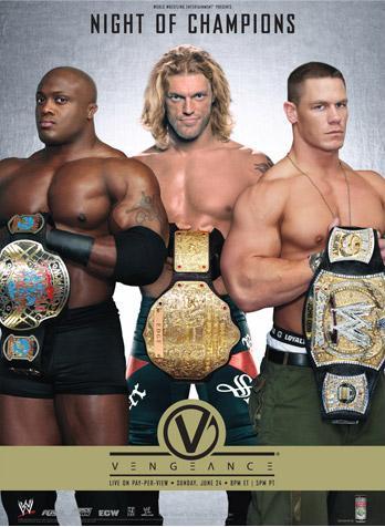 Wwe Vengeance 2007 Dvd Cover