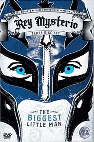 Rey Mysterio The Biggest Little Man Dvd Cover 0