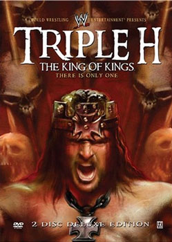 Triple H The King Of Kings Dvd Cover