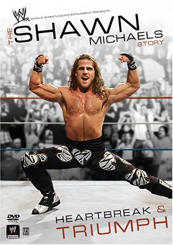 Shawn Michaels Heartbreak And Triumph Dvd Cover