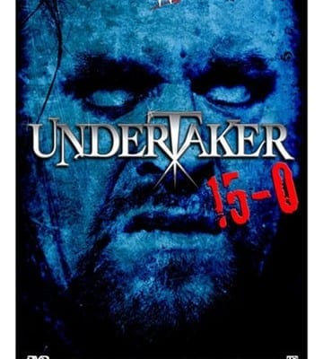 Wwe Undertaker 15 0 Dvd Cover