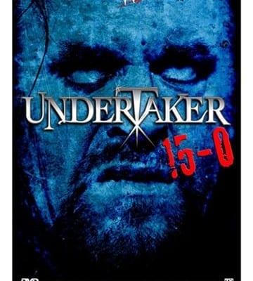 Wwe Undertaker 15 0 Dvd Cover