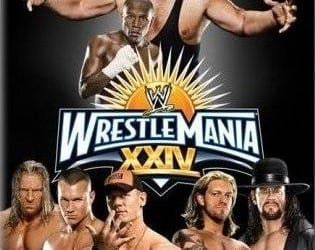 Wwe Wrestlemania 24 Dvd Cover 0